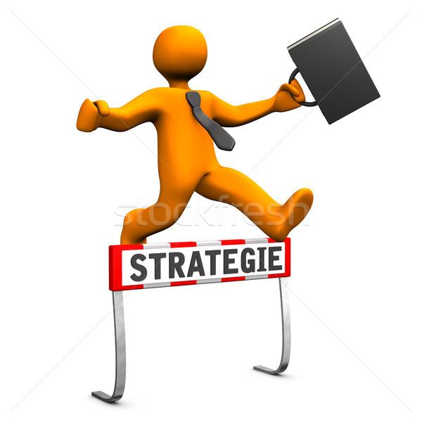 Steeplechase Strategy Stock photo © limbi007