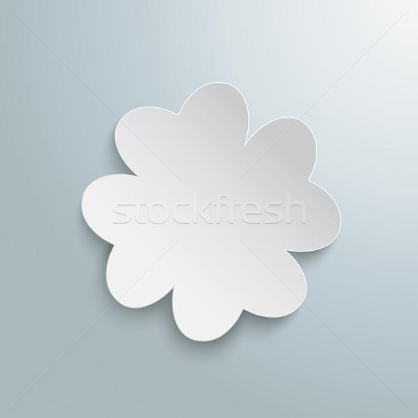 White Shamrock Stock photo © limbi007