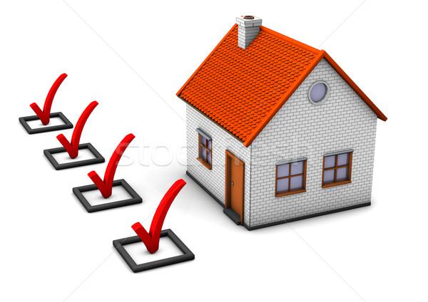 Check Your House Stock photo © limbi007