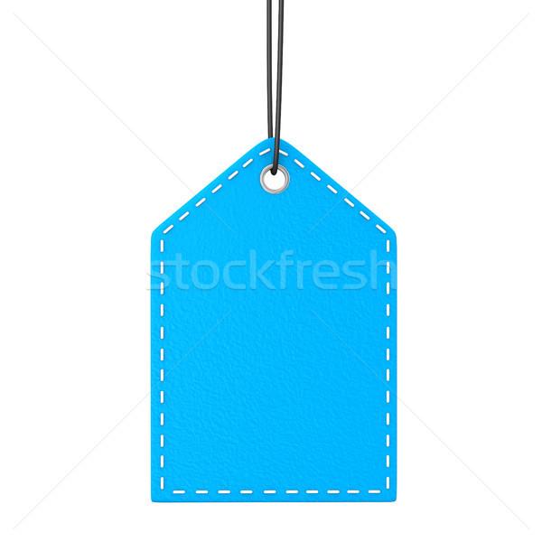 Blue Shopmark Stock photo © limbi007
