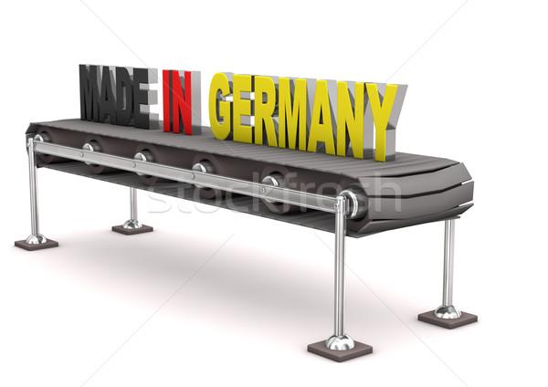 Made in Germany Line Stock photo © limbi007
