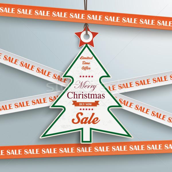 販売 ステッカー 行 クリスマスツリー 価格 グレー ストックフォト © limbi007