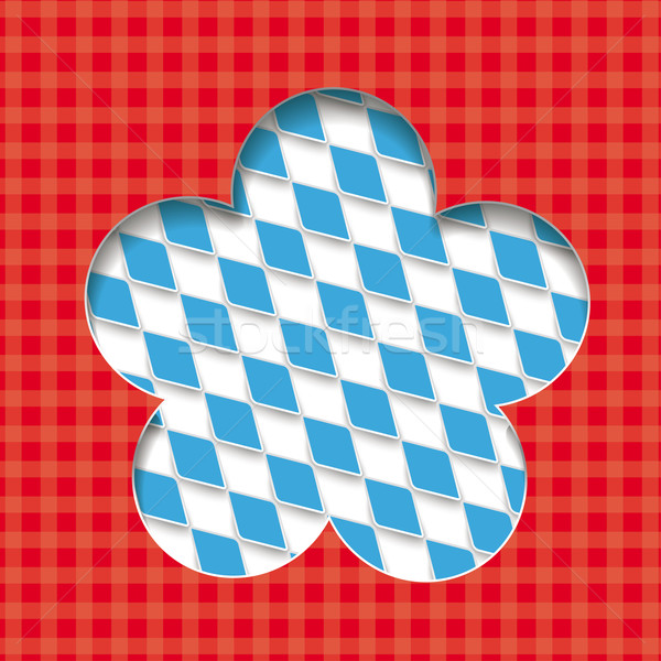 Bavarian Colors Background Design Flower Stock photo © limbi007