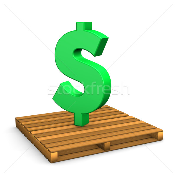 Pallet Dollar Stock photo © limbi007