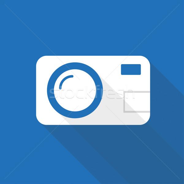 Photocamera Icon Stock photo © limbi007