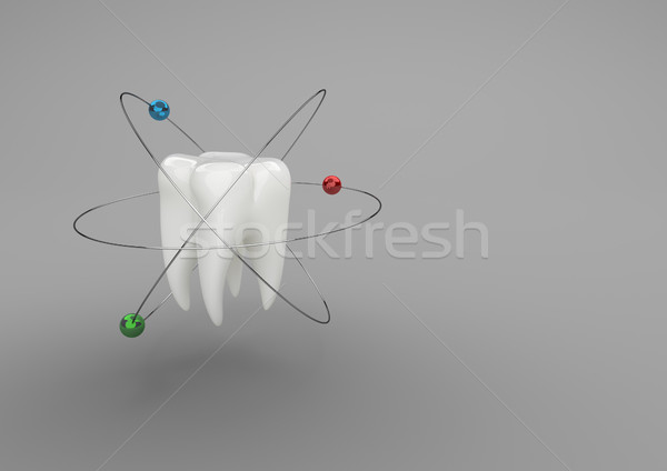 Atomic Tooth Stock photo © limbi007