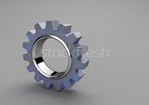 Gear Wheel Glass Stock photo © limbi007