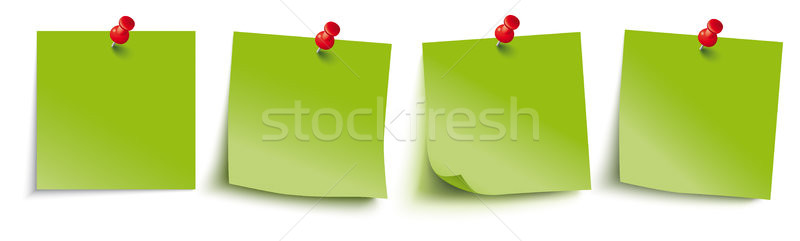 Verde rosso infografica bianco Foto d'archivio © limbi007