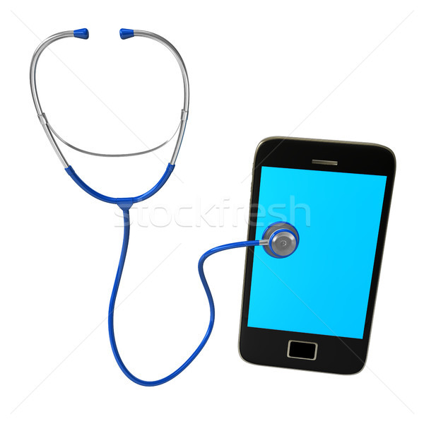 Stethoscope Smartphone Stock photo © limbi007