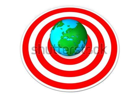 Earth Target Stock photo © limbi007