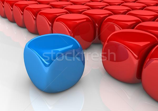 Cubes Integration Stock photo © limbi007