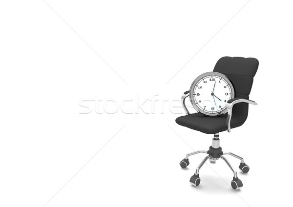 Swivel Chair Watch Stock photo © limbi007