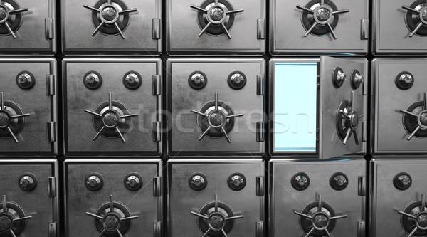 Opened Strongbox Stock photo © limbi007