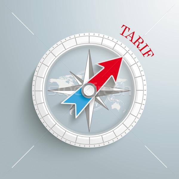 Compass Tarif Stock photo © limbi007