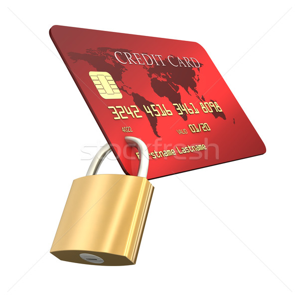 Credit Card Safety Stock photo © limbi007