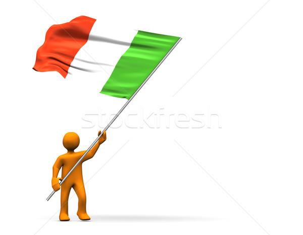 Italian Fan Stock photo © limbi007