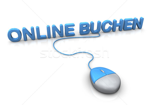 Book Online Mouse Stock photo © limbi007