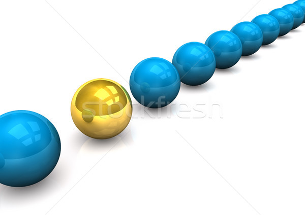 Spheres Scheme Stock photo © limbi007