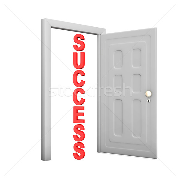 Door Success Stock photo © limbi007