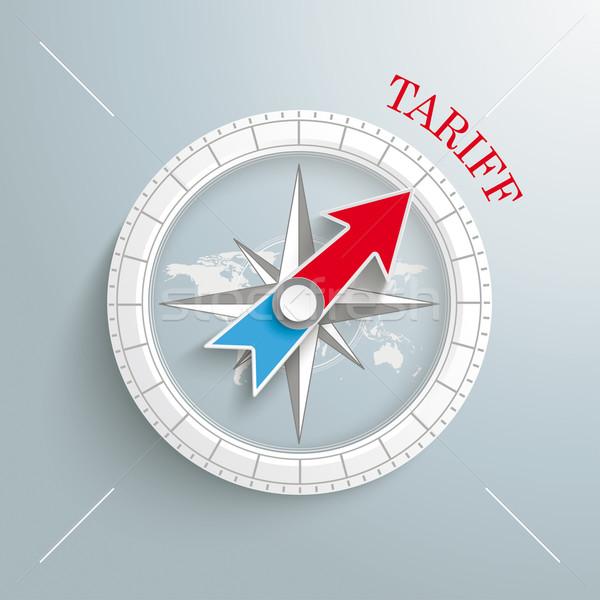 Compass Tariff Stock photo © limbi007