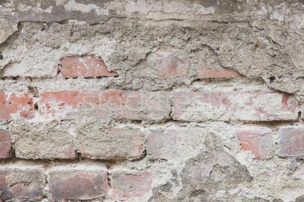 Old Ruin Brick Wall Stock photo © limbi007