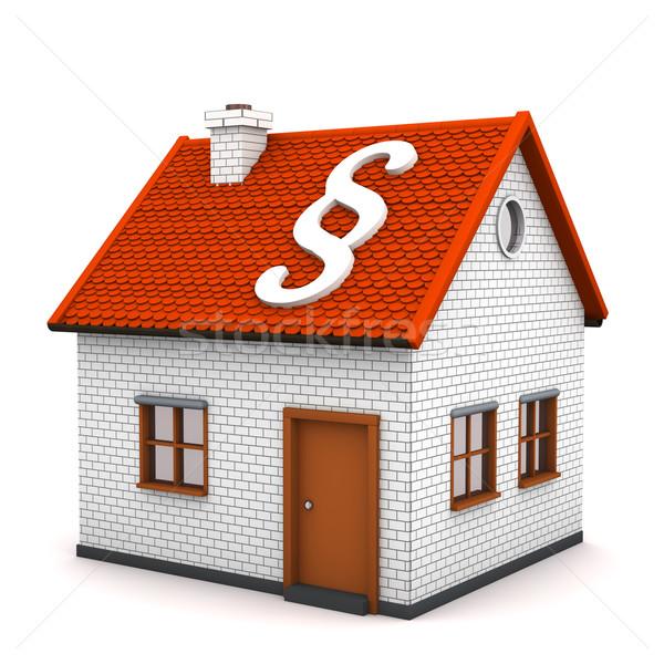 House Paragraph Stock photo © limbi007