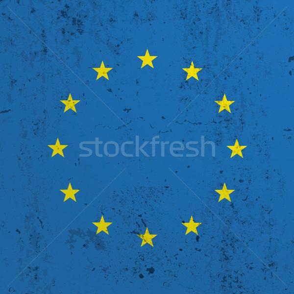 конкретные Евросоюз флаг прибыль на акцию 10 вектора Сток-фото © limbi007