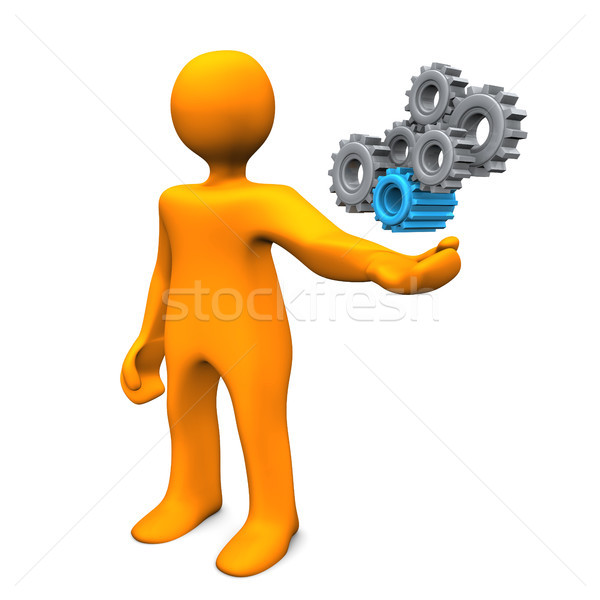 Mechanical Engineer Stock photo © limbi007