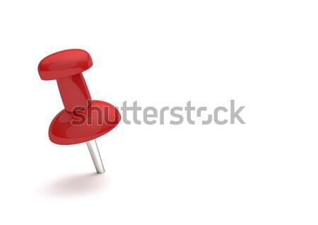 Red Thumbtack Stock photo © limbi007