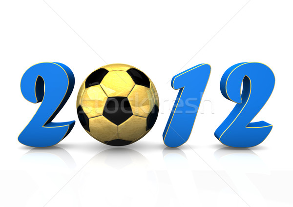 Football 2012 Stock photo © limbi007