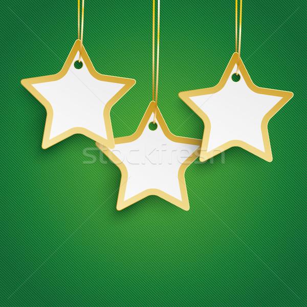 クリスマス 星 緑 クリスマスツリー eps ストックフォト © limbi007