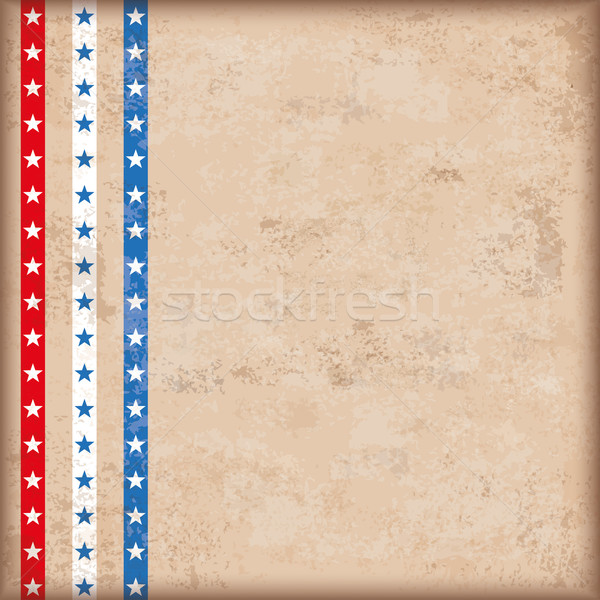 Vintage Background US Flag Stripes Stock photo © limbi007