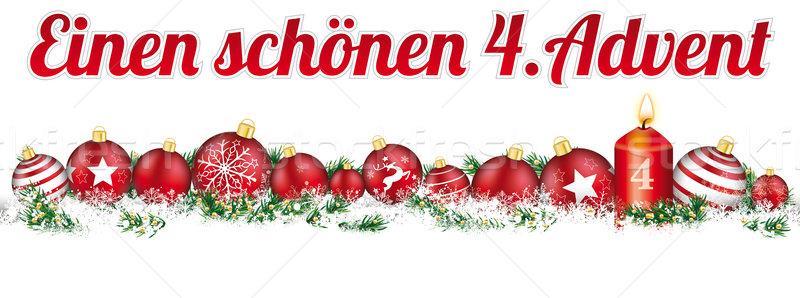 クリスマス 見出し 雪 バナー キャンドル 出現 ストックフォト © limbi007