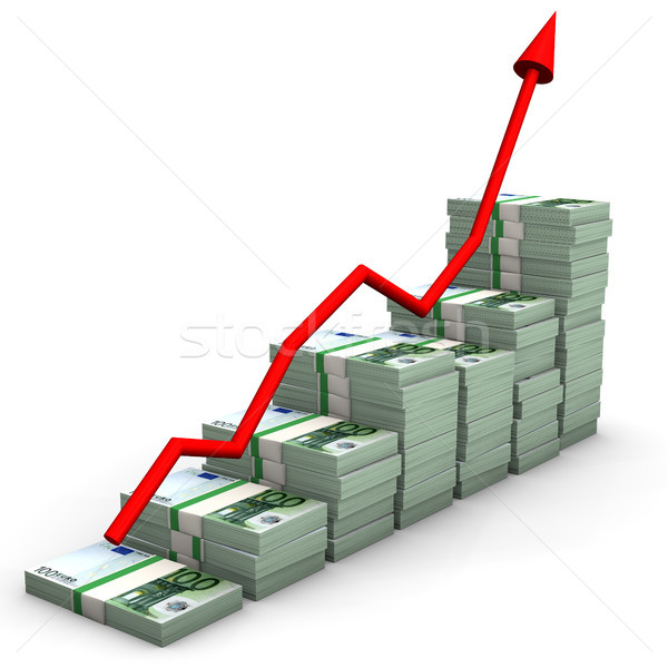 Money Euro Chart Stock photo © limbi007