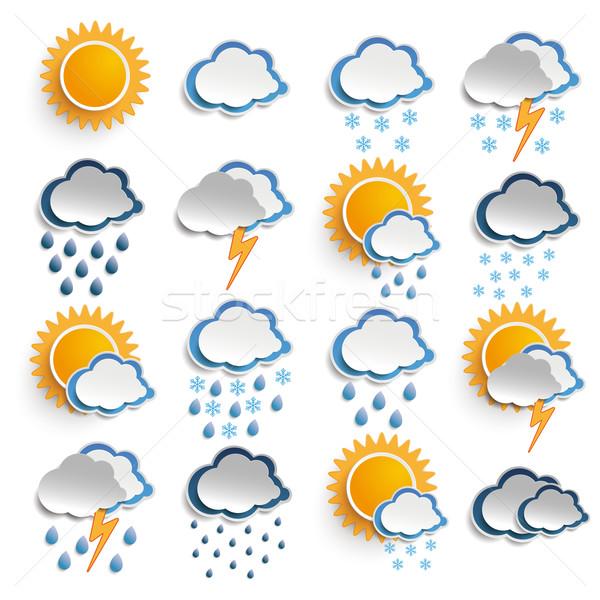 Weather Icons Stock photo © limbi007