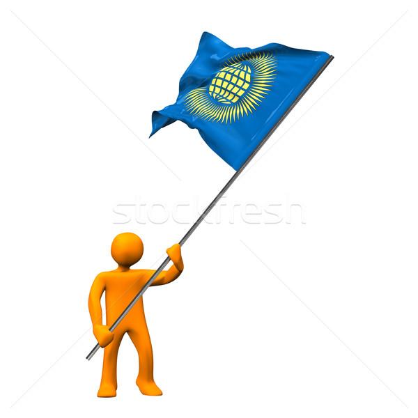 Manikin Flag Commonwealth Stock photo © limbi007