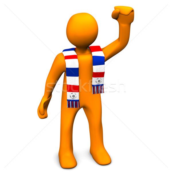 Soccer Fan Stock photo © limbi007