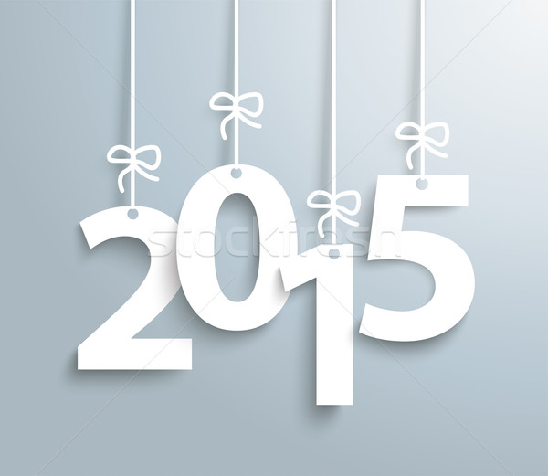 2015 Gray Background Stock photo © limbi007
