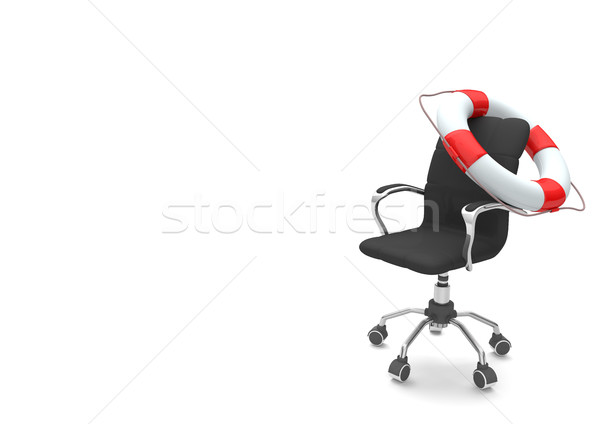 Swivel Chair Lifebelt Stock photo © limbi007
