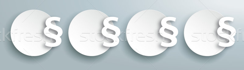Kreise Kopfzeile grau eps 10 Vektor Stock foto © limbi007