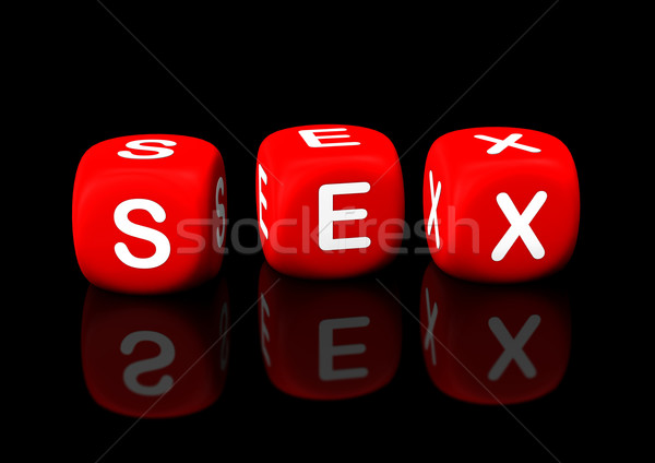 Sex Cubes Stock photo © limbi007