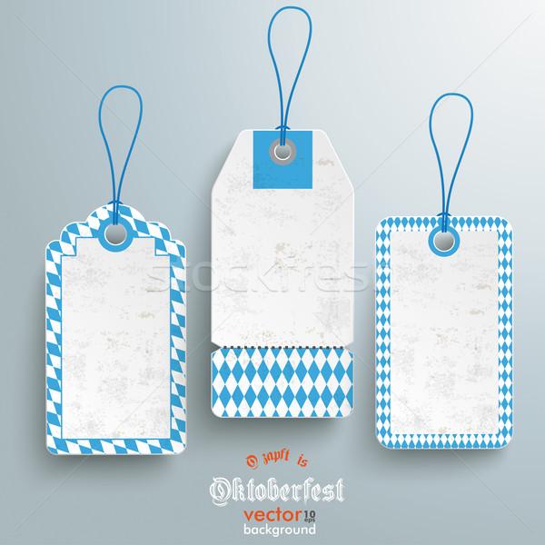 3 Bavarian Price Stickers Stock photo © limbi007