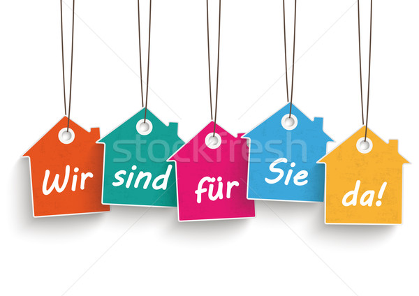 House Price Stickers Open Stock photo © limbi007