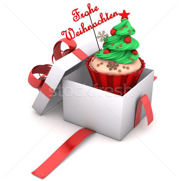 商业照片: 礼物 · 圣诞节 · 文本 · 蛋糕