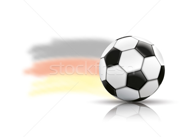 Football Mirror Germany Background Stock photo © limbi007