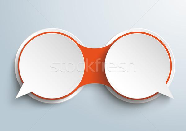 Keten opties dialoog ontwerp Stockfoto © limbi007