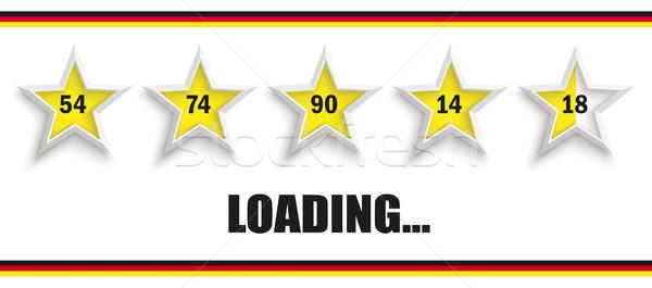 5 Black Stars Germany Header Loading 54 18 Stock photo © limbi007