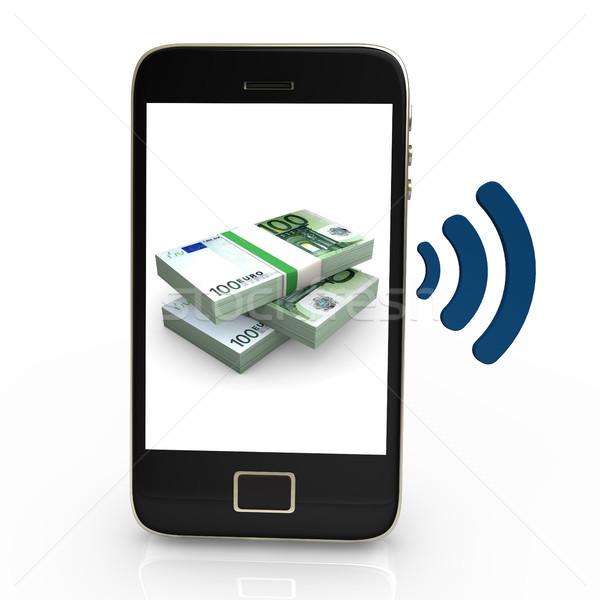 NFC Euros Stock photo © limbi007