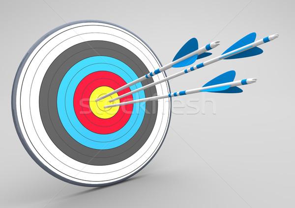 Target 3 Arrows Stock photo © limbi007