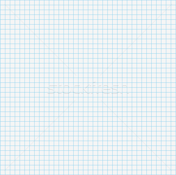 Seamless Pattern Checked School Paper Stock photo © limbi007